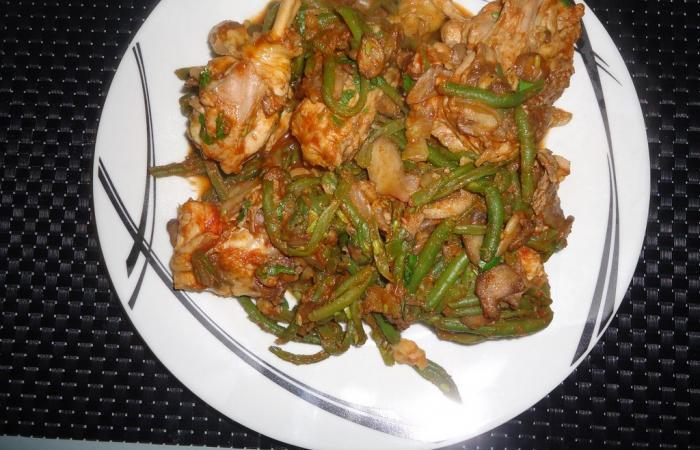Poulet Haricots verts, recette Dukan PL par SAND95