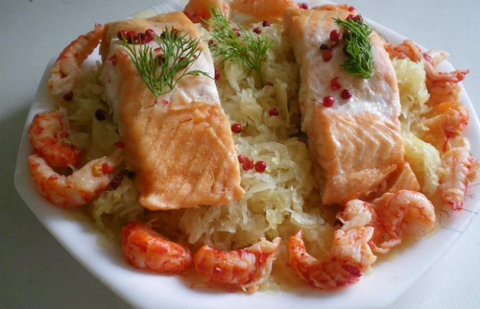 Recette choucroute cuite - Cuisiner choucroute cuite ...