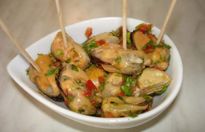 Moules marinées pour l'apéro ou salades, recette Dukan PL