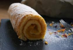Photo Dukan Gâteau roulé à la confiture