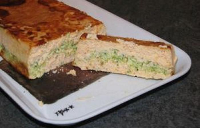 Terrine l g re saumon brocolis recette dukan pl par for Entree legere facile