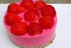 Photo Dukan Chessecake aux fraises