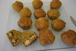 Recette Dukan : Muffins crevettes curry