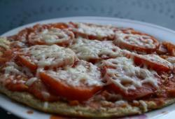 Photo Dukan Pizza à la tomate fraîche