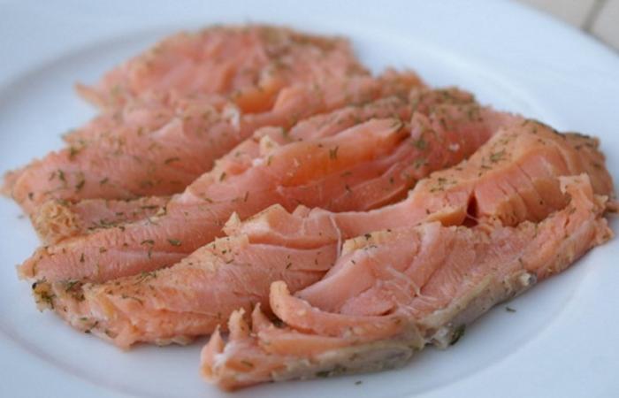 saumon gravlax l 39 aneth recette dukan pp par spicy. Black Bedroom Furniture Sets. Home Design Ideas