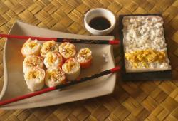 Photo Dukan Makis surimi/oeuf/crevette
