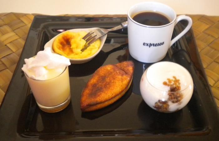 Caf gourmand sans tol r s recette dukan pp par - Assiette rectangulaire pour cafe gourmand ...
