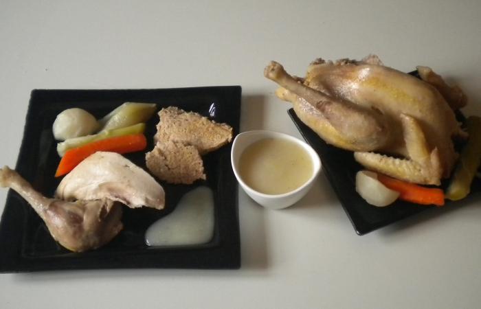 poule au pot farcie du duc an recette dukan pl par valerievvv recettes et forum dukan pour