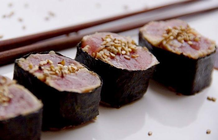 makis de thon rouge frais au s same recette dukan pp par spicy recettes et forum dukan pour. Black Bedroom Furniture Sets. Home Design Ideas