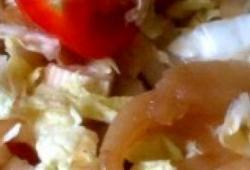 Recette Dukan : Salade franco-chinoise