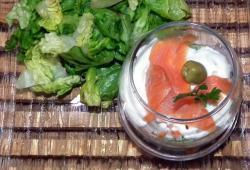 Photo Dukan Verrine fraiche saumon surimi