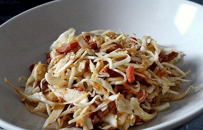 Salade de chou blanc au vinaigre chaud recette dukan pl par supertata recettes et forum dukan - Recette desherbant vinaigre blanc ...