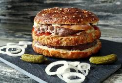 Photo Dukan Ze perfect PP cheeseburger