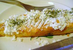 Photo Dukan Pavé de saumon au fromage ail & fines herbes
