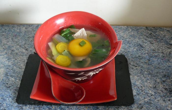 soupe japonaise au veau et vermicelles de konjac recette dukan pl par ktia recettes et forum. Black Bedroom Furniture Sets. Home Design Ideas