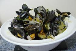 Photo Dukan Moules à la Bruxelloise