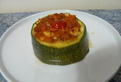 Photo Dukan Courgette farcie au saumon