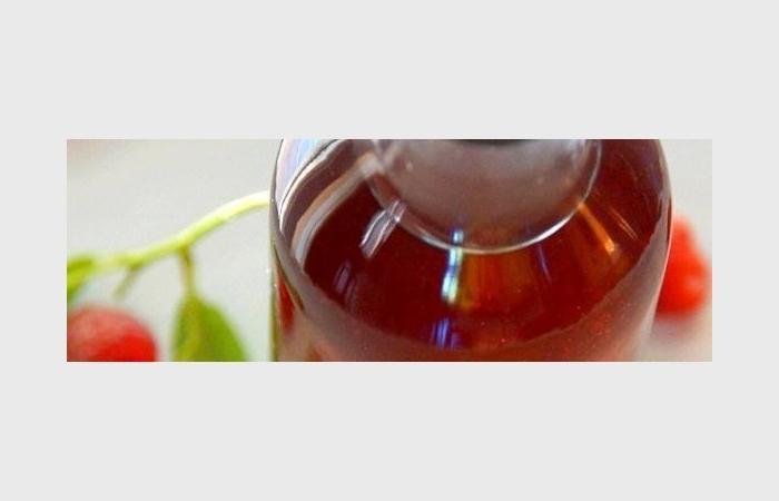 Vinaigre de framboises (condiment), recette Dukan Conso