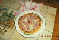 Recette Dukan : Pizza simple jambon cantal