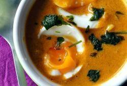 Recette Dukan : Bollywood Egg Curry